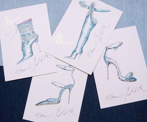 heels, manolo blahnik, and rihanna image