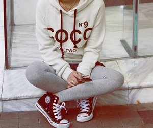 fashion, converse, and coco image