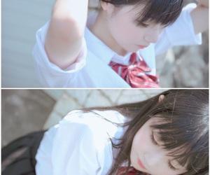 cute, uniform, and 美少女 image