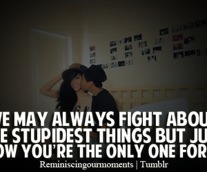 couple, fight, and happy image