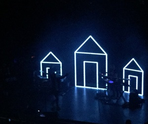 blue, concert, and gay image