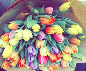 bright, flowers, and heart it image