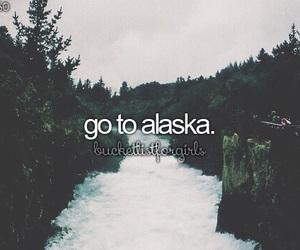 alaska, travel, and bucket list image