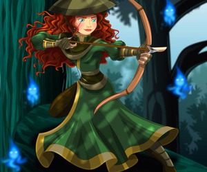 disney, merida, and avatar image