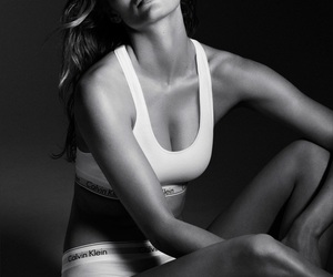 black and white, Calvin Klein, and sexy image