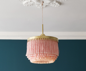 pink, gold, and lamp image