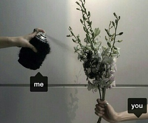 me, you, and black image