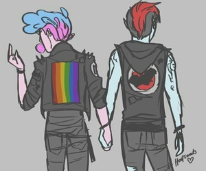 homosexual, punk, and gumlee image