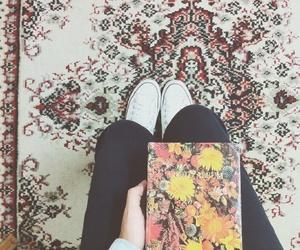album, flowers, and vintage image