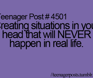 teenager post, life, and never image