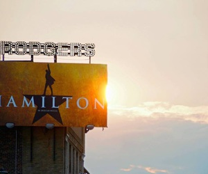 broadway, hamilton, and musical theatre image