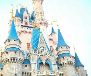 disney, castle, and disney world image