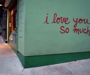 love, I Love You, and grunge image