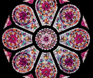 colorful, lovely, and stained glass image