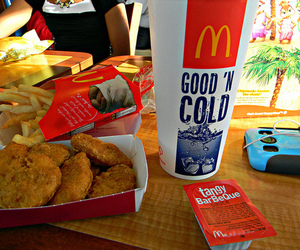 food, photography, and McDonalds image