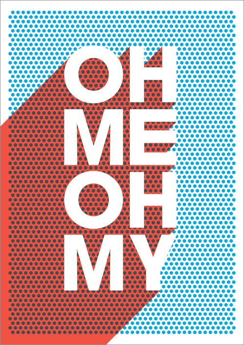 oh me oh my, typography, and dots image