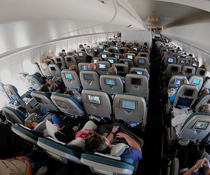 airplane, people, and photography image
