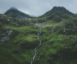 green, nature, and mountains image