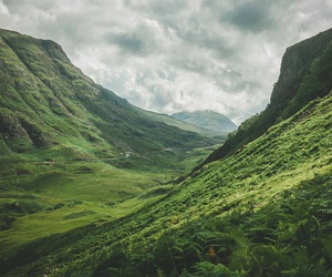 mountains, nature, and green image