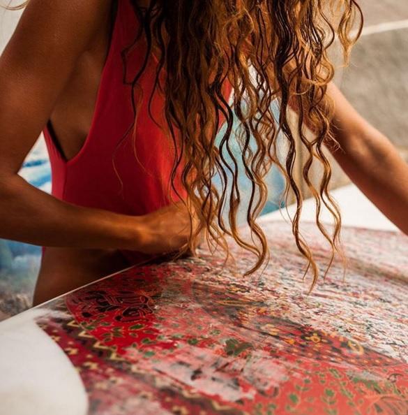 beach, wax, and one piece image