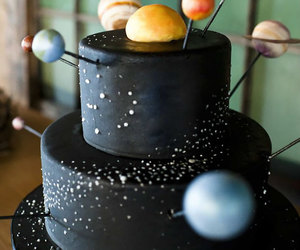 cake, planet, and photography image