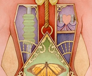 body, butterfly, and gif image
