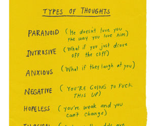 thoughts, quotes, and negative image