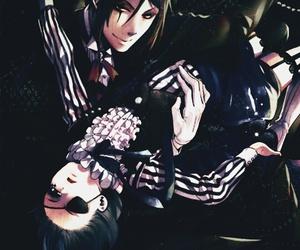 black butler, kuroshitsuji, and anime image