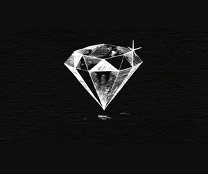 diamond, style, and gold image