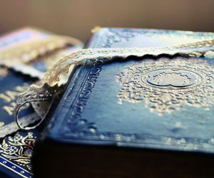 blue, book, and lace image