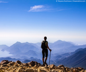 adventure, trekking, and mountains. image