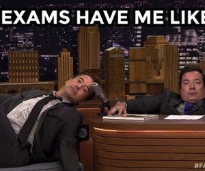 exams and school image