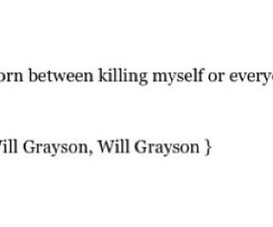 john green, quote, and will grayson image