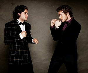 game of thrones, jon snow, and richard madden image