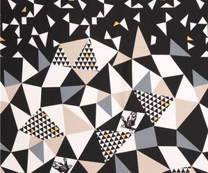 background, pattern, and triangle image