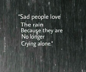 alone, quotes, and crying image