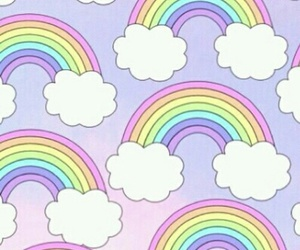rainbow, wallpaper, and background image