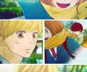manga, ao haru ride, and cute couple image