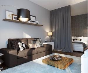 apartment, interior, and livingroom image
