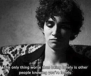 misfits, lonely, and alone image