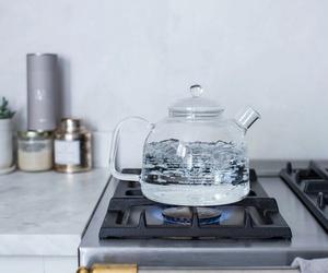 su, şeffaf, and çaydanlık image