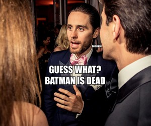 30 seconds to mars, batman, and jared leto image