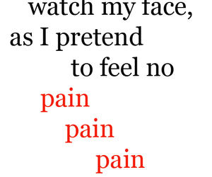 john mayer, words, and pain image