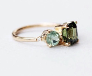 ring, girl, and green image