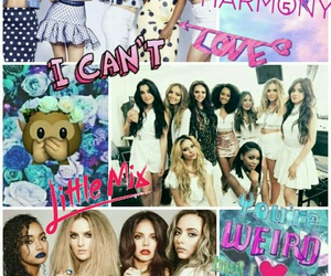 Collage, little mix, and fifth harmony image