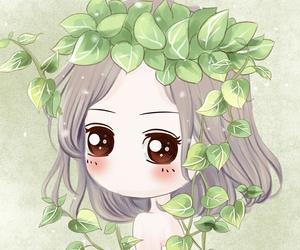 girl, wallpaper, and cartoon image