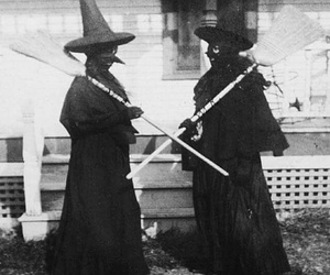witch and vintage image