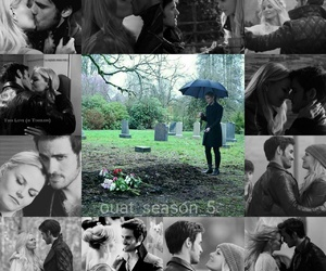 emma swan, ouat edits, and killian jones image