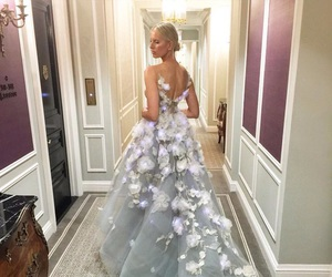 fashion, dress, and Karolina Kurkova image