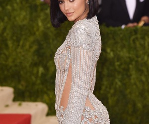 kylie jenner, met gala, and dress image